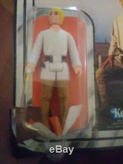 1977 Star Wars Vintage Luke Skywalker Avec Light Saber Figure Kenner À Collectionner