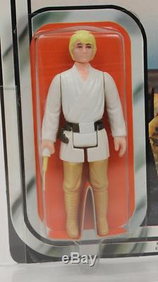 1978 Star Wars Kenner Canada 12 Retour Luke Afa 85 Nm + (85/85/85)! Pop 1 Moc