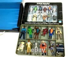 1978 Star Wars Premier 21 Figure Ensemble Complet Original 12 Retour Luke Leia Avec Cas