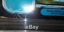 1984 Potf R2d2 Avec Sabre Laser Pop Star Vintage Kenner Moc Unpunched