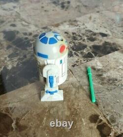 1985 R2-d2 Pop Up Lightsaber Droids Star Wars Vintage Original 100% Complet