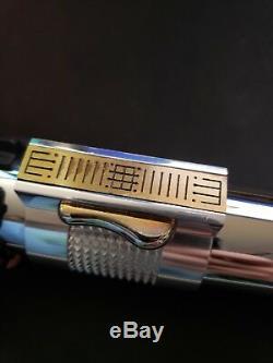 2005 Master Replicas Star Wars Anakin Skywalker Lightsaber Rots Limitée Ed