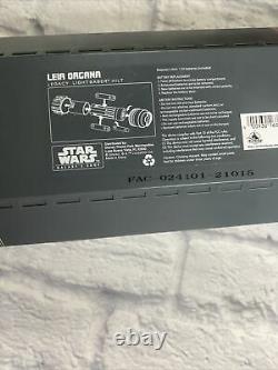 2021 Parcs Disney Star Wars Galaxys Edge Leia Organa Legacy Lightsaber Hilt Nouveau