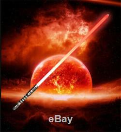 2pcs Star Wars Lightsaber Duels Épée Fx 16color Rvb Son Cosplay Film Props