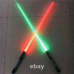 2pcs Star Wars Lightsaber Sword Fx Jedi Sith Metal Hilt 16 Couleurs Changer Les Jouets