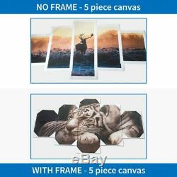 3 Panneaux Star Wars Caractère Double Lumière Sabres Décor Moderne Art Mural Hd Imprimer