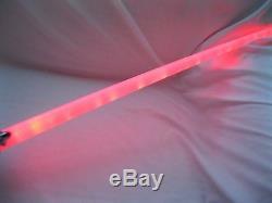 30 Star Wars 23 Led Blue Light 28.5 Épée De Sabre - 28 Led Épée De Sabre - Brand New