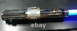Anakin Skywalker Master Replicas Force Fx Sabre Laser 2005 Blue Blade / Testé