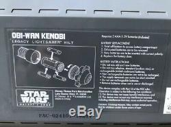 Bord Legacy De Disneyland Star Wars Galaxy Kenobi Sabre Hilt Seulement