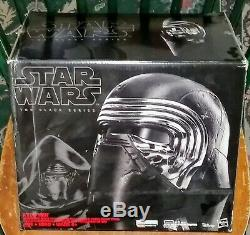 Casque À Changement De Voix Électronique Kylo Ren De Star Wars - Sabre De Lumière Coffret Original