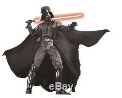 Costume Darth Vader Collector + Bonus Casque + Gants + Sabre Léger - Original Nouveau
