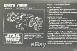 Darth Vader Lightsaber Héritage Hilt Star Wars Edge Galaxy Disneyland