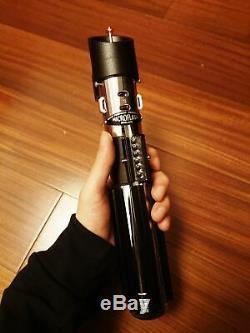 Darth Vader Poignée Originale Star Wars Lightsaber Proffie 2.2 Soundboard Carte Sd