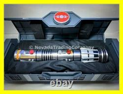 Deux Star Wars Galaxy's Edge Dark Maul Legacy Sabre Laser Withtwo 36 Blade Adaptateur