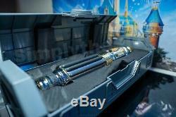 Disney Star Wars Galaxies Bord Mace Windu Lightsaber Disneyland Héritage Hilt