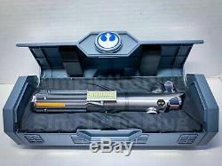 Disney Star Wars Galaxies Bord Rey Luke Anakin Legs Lightsaber Originale Nouveau