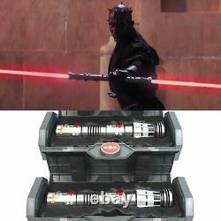 Disney Star Wars Galaxy's Edge Dual Darth Maul Legacy Lightsaber Hilt Pair Set