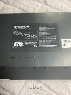 Disney Star Wars Galaxys Edge Rey Skywalker Legacy Lightsaber Hilt Yellow Scelled