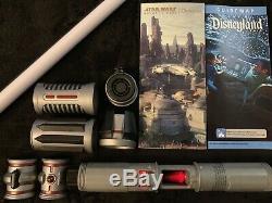 Disneyland Star Wars Galaxies Bord Savis Atelier Lightsaber Choisissez Votre