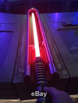 Edge Disneyland Star Wars Galaxy Savi Pouvoir Et Du Contrôle Lightsaber Rouge