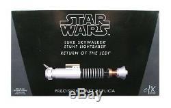 Efx Star Wars Le Retour Du Jedi Luke Skywalker Réplique De Sabre Laser De Réplique Nouveau