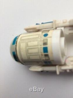 Figure Star Wars R2d2 Vintage Potf 17 Derniers Pop Up Version Light Saber (manquant)