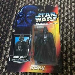 Figurine Star Wars Darth Vader Long Light Saber Caractère Jouet Super Rare