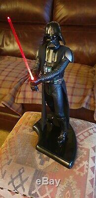 Format Sideshow Premium Star Wars Darth Vader Figure Illuminez Sabre Et Costume 2005