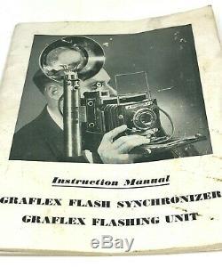 Graflex 3 Cell Flash Star Wars Sabre De Lumière Avec Réflecteur / Syn. Cord-ship Immédiatement