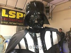 Grandeur Nature Star Wars Dark Vador Avec Light Up Base Et Sabre Laser Full Size 11