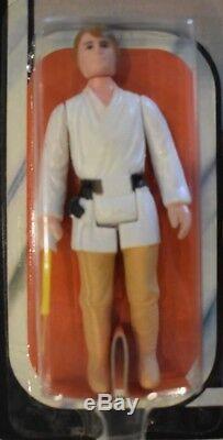 Guerres D'étoile Vintage Luke Skywalker Empire Strikes Back 45 Retour Kenner Afa Prêt