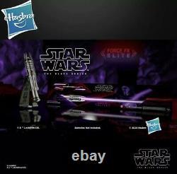Hasbro Star Wars Black Series Darth Revan Force Fx Lightsaber Elite New En Stock