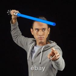Hasbro Star Wars Black Series Ep1 Obi-wan Kenobi Fx Lightsaber Bleu