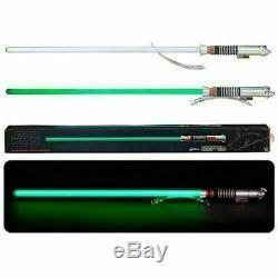 Hasbro Star Wars La Série Noire Luke Skywalker Force Fx Lightsaber En Stock