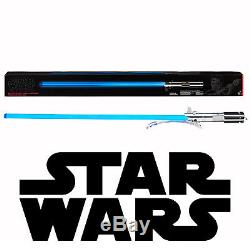 Hasbro Star Wars Nouveau Sabre Laser Bleu Rey Series Black Force Fx Deluxe Light