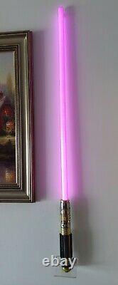 Hasbro Star Wars The Black Series Mace Windu Force Fx Sabre Laser (voir Note)