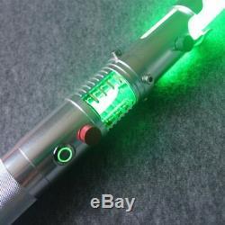 Hot Star Wars Lightsaber Replica Force Fx Lourde Dueling Cristal Poignée En Métal
