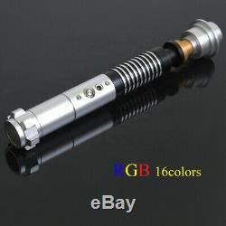 Hot Star Wars Luke Skywalker Lightsaber En Métal 16 Couleurs Rvb Lumière Replica