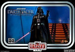 Hot Toys Dark Vader Star Wars 40e Anniversaire V Esb 1/6 Échelle Figure En Stock