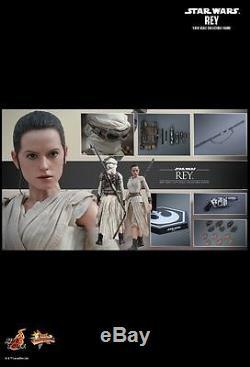 Hot Toys Mms 336 Star Wars La Force Awakens Rey Daisy Ridley 12 Pouces Figure Nouveau