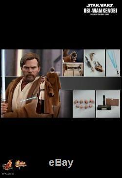 Hot Toys Mms 477 Star Wars III La Revanche Des Sith Obi-wan Kenobi Ewan Mcgregor