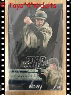 Hot Toys Mms 516 Star Wars Retour Du Jedi Luke Skywalker Endor (normal Ver)