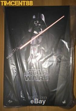 Hot Toys Mms279 Star Wars Episode IV Un Nouvel Espoir 1/6 Darth Vader Figure Sonore Led