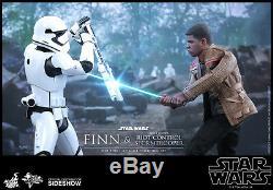 Hot Toys Star Wars Finn & Riot Control Stormtrooper Figure Set 1/6 Échelle Mms346