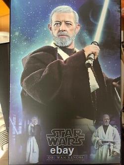 Jouets Chauds Mms 283 Star Wars Nouveau Espoir Obi-wan Kenobi Alec Guinness Figure