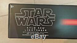 Lame Et Garde Démontables De Sabre Laser De Kylo Ren De Parcs De Star Wars Disney! Nib Scellé