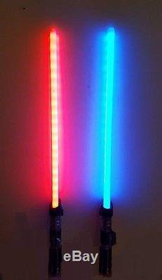 Lampes Sabres Et Sabre Laser Star Wars Huge Hasbro Officiel Nouveau