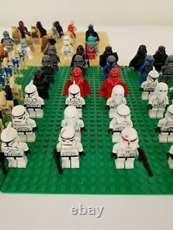Lego 115+ Minifigure Star Wars Lot Stormtrooper Droid Lightsaber Rare Lego