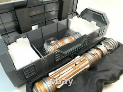 Leia Organa Legacy Lightsaber Hilt Star Wars Galaxy's Edge Disney Nouveau Et Scellé