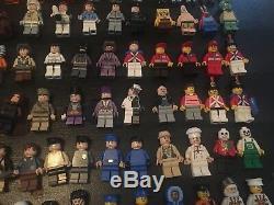 Lot De 103 Figurines Lego Star Wars, Batman, Indiana Jones, Sabres Laser, Etc.